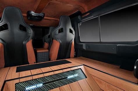 Land Rover Defender Interior Upgrade By Studio Vilner (4