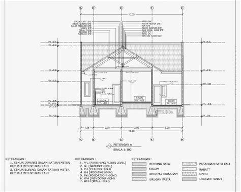 gambar tutorial desain rumah  autocad  feed