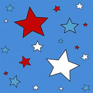 Red White and Blue Star Background - Red White and Blue ...