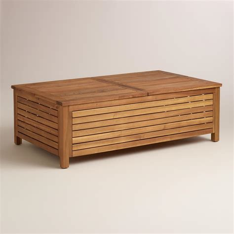 table and storage patio storage coffee table coffee table design ideas