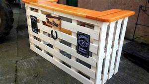 40 DIY PALLET BAR Ideas Creative 2017 - Cheap Recycled Bar