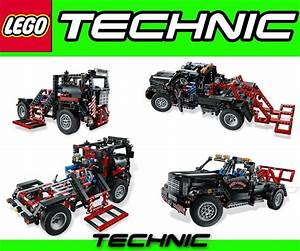 Lego Technic Pick Up : lego technic 9397 logging truck 9395 pick up tow truck ~ Jslefanu.com Haus und Dekorationen
