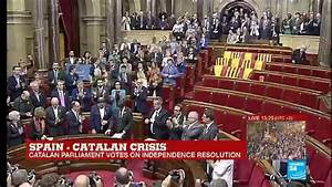 Catalonia Crisis: Catalan Parliament votes for ...