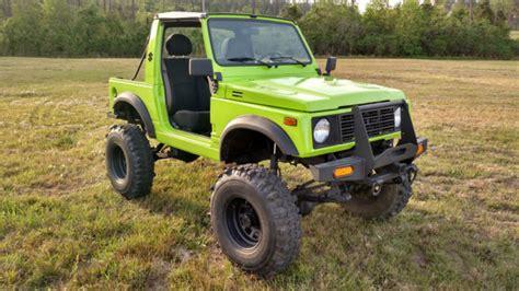 Suzuki Samurai Conversion by 1987 Suzuki Samurai 1 6 Conversion Auto Trans Toyota Axles