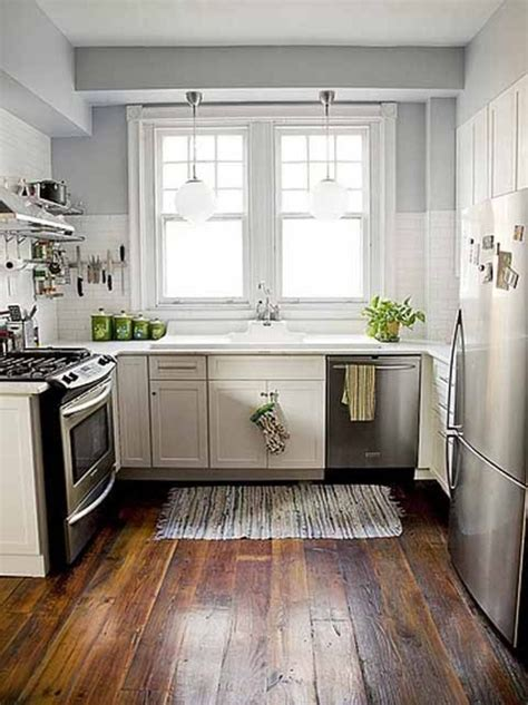 Small White Kitchen Ideas by My Kitchen Is This Small And The Same Layout Great