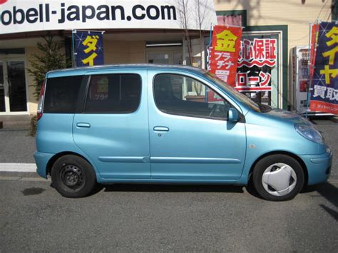 toyota funcargo welfare car    sale japan