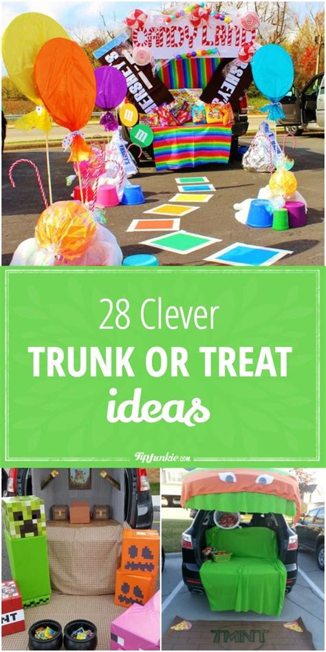 treat ideas 27 clever trunk or treat ideas tip junkie