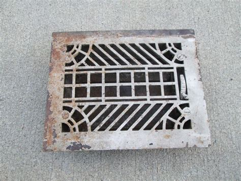 floor furnace grates vintage metal furnace grate floor wall heater vent cover