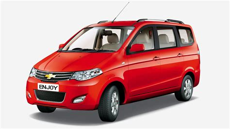 chevrolet enjoy mpv exterior picture gallery chevrolet india