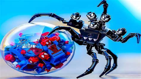 lego spider man  venom spiderman   spider