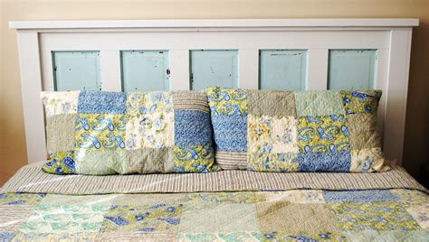 Aint She Crafty How To Build A Headboard From An Old Door