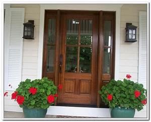 Wooden Front Doors With Glass Panels | doors | Pinterest ...