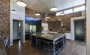 new york loft style kitchen mastercraft kitchens With new york loft kitchen design
