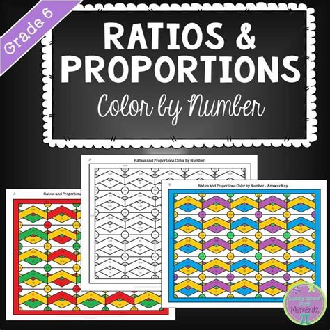Best 25+ Ratios And Proportions Ideas On Pinterest  Proportion Math, Sixth Grade And Math