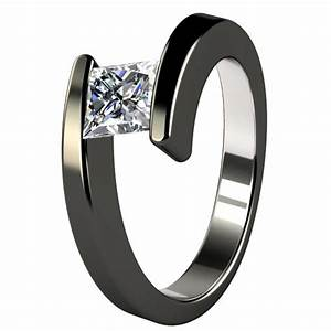 Black Titanium Wedding Bands For Women Wedding And