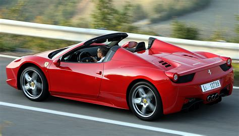 ferrari 488 vs 458 visual comparison new ferrari 488 spider vs 458 spider