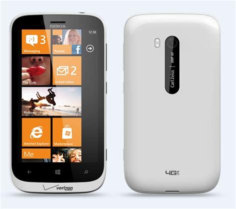 nokia lumia  white windows phone  lte mp camera