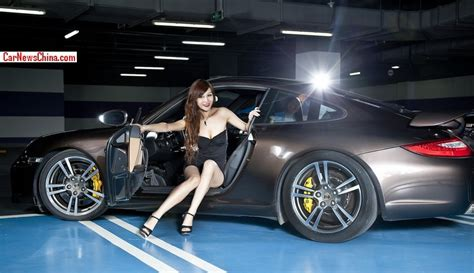lusty chinese girl   tiger   porsche  china