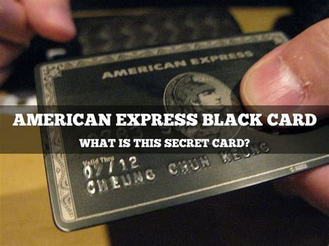 How to get amex black card. American Express Black Card by Tom Fakes
