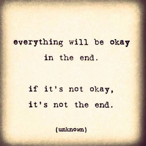 It'll Be OK Quotes