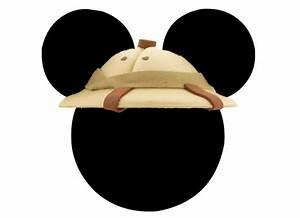 Mickey Safari Hat Clipart