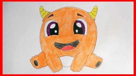 draw cute monster cute stuff cartoons youtube