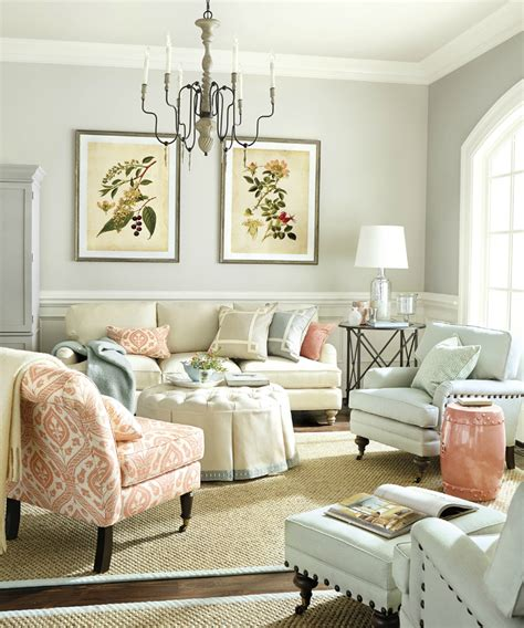 Coral Color Interior Design by 36 Charming Living Room Ideas Decoholic