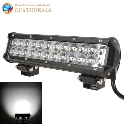 12 inch 12v 24v cree led work light bar waterproof