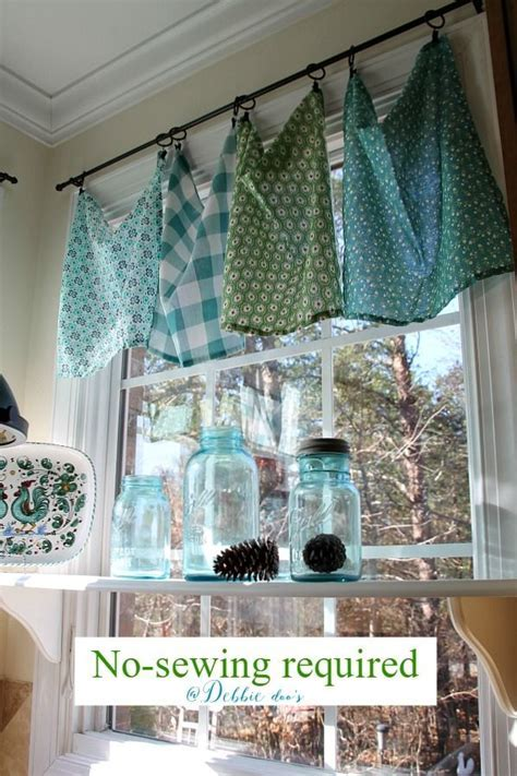 Beautiful Interior Swag Curtains For Kitchen Remodel with