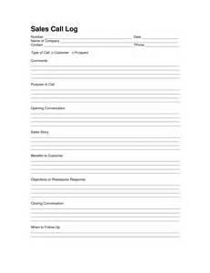 Cold Call Sheet Template Sales Log Sheet Template Sales Call Log Template Call Log Logs Sales Skills
