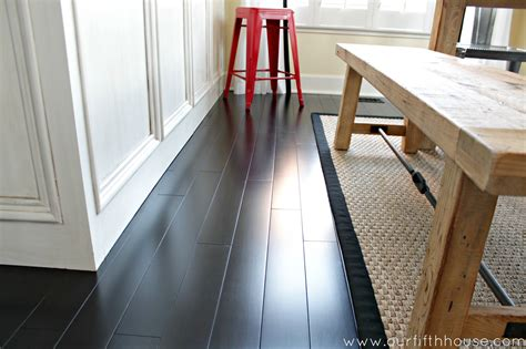 Can You Steam Clean Laminate Hardwood Floors by How To Clean Dark Wood Floors Our Fifth House