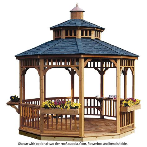 backyard gazebo wooden gazebos outdoor style brighton