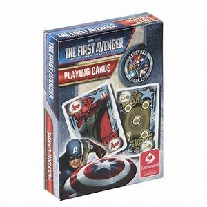 NEW CAPTAIN AMERICA PACK OF PLAYING CARDS RETRO DECK GAMES ...