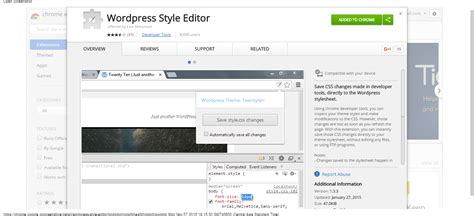 google chrome extensions  wordpress