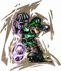 Mario Strikers Charged Concept Art