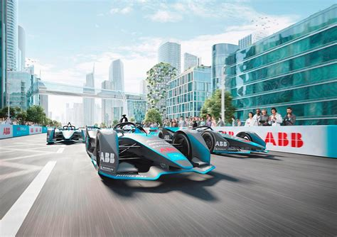 abb formula  season  takes electric racing car