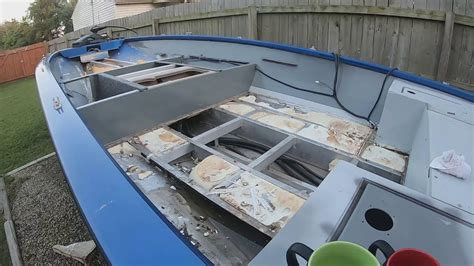paint  boat deck  flex seal youtube