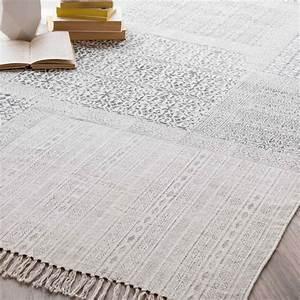 tapis en coton 140 x 200 cm codosera maisons du monde With tapis en coton
