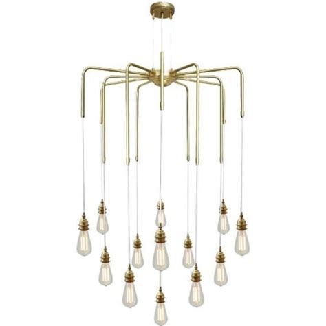 cluster  bare bulb ceiling pendant lights hanging