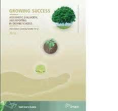 Growing Success: Assessment, Evaluation and Rep...