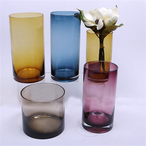 cheap glass vases for centerpieces cheap clear glass vases spray cylinder