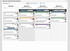 Release Planning Board CA Agile Central Help