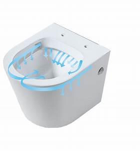 Wc Suspendu Sans Bride : pack wc suspendu geberit compact cuvette sans bride ~ Dailycaller-alerts.com Idées de Décoration