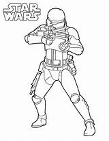 Stormtrooper Coloring Adults sketch template