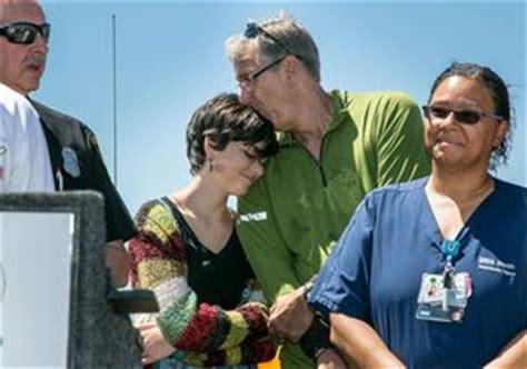 Survivor of lightning strike reunites with rescuers | UCLA