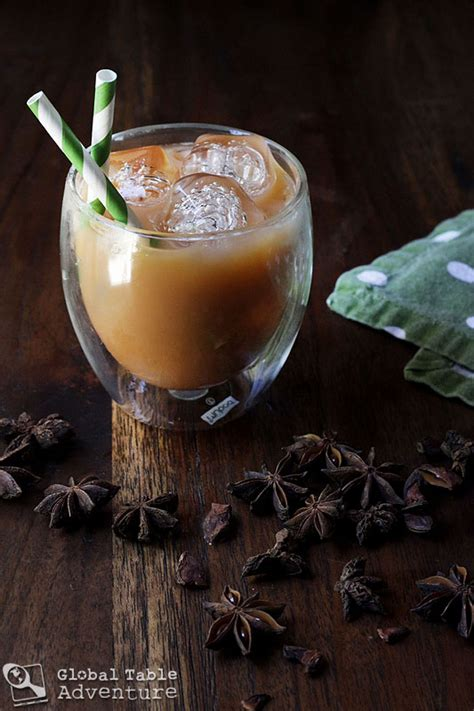 thai tea recipe thai iced tea global table adventure