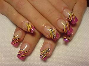 Crazy nail art designs acrylic