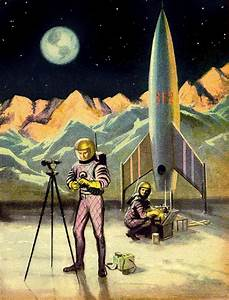 vintage sci fi   Robots and space cadets   Pinterest