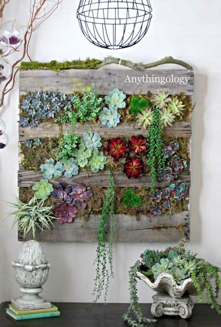 25 best ideas about succulent wall gardens on