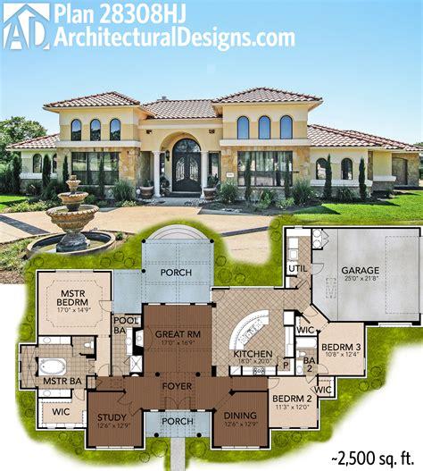 Luxury Mediterranean Architecture Home Mansion House Plan